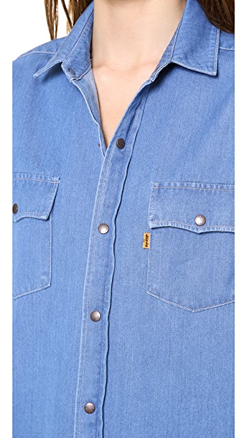 Levi's Orange Tab 1970s Denim Shirt