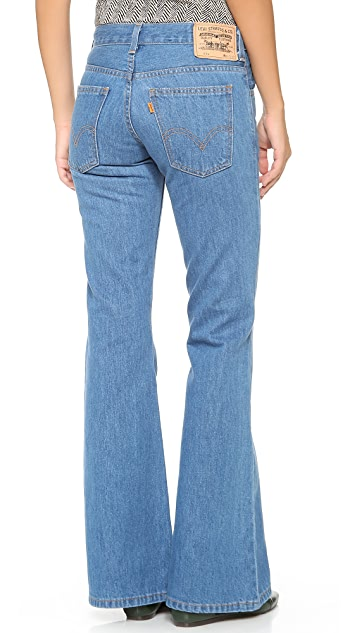 Levi's Orange Tab 1970s 684 Bell Bottom Jeans