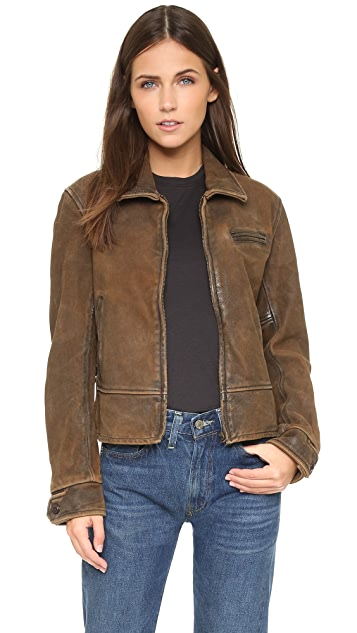 Levi's 1930s Leather Jacket