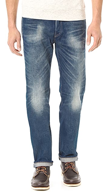 Levi's Made & Crafted Ruler Driftwood Jeans