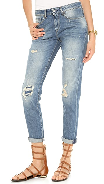 Levi's Made & Crafted Marker Tapered Boyfriend Jeans
