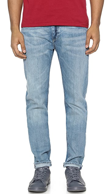 Levi 39 s made crafted shuttle straight fit jeans east for Made and crafted shuttle