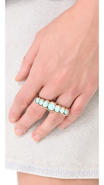 L'AGENCE Graduated Double Finger Ring