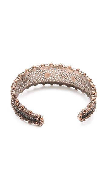 L'AGENCE Mesh Crescent Moon Cuff
