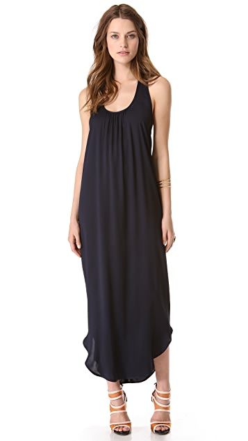 L'AGENCE Cross Back Column Dress