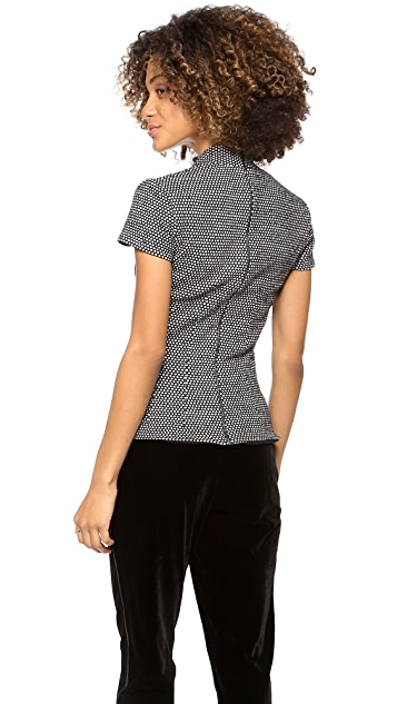 L'AGENCE Square Neck Top