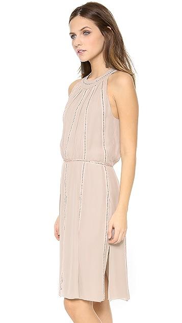 L'AGENCE Shirred Nail Head Dress