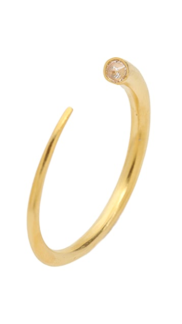 L'AGENCE Tapered Bangle Bracelet