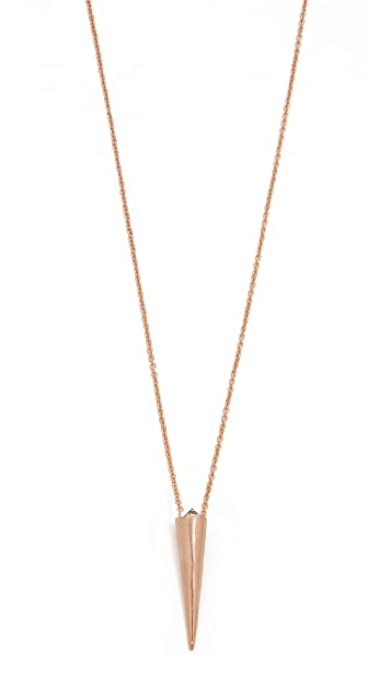 L'AGENCE Tapered Pendant Necklace