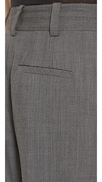 L'AGENCE Pleated Trousers