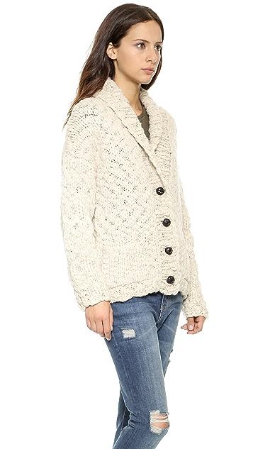 L'AGENCE Hand Knit Cardigan