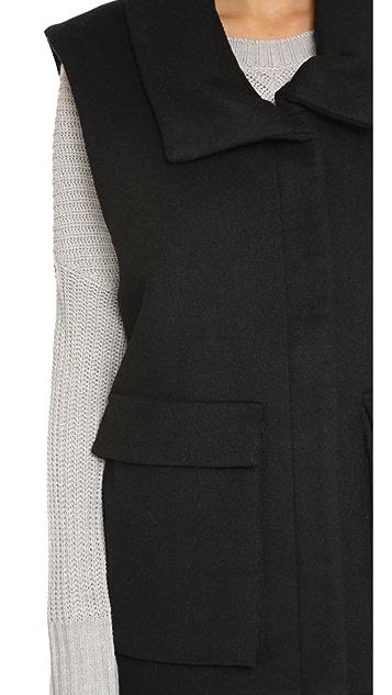 L'AGENCE Maddie Puffer Vest