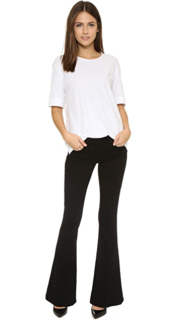 L'AGENCE Elysse Low Rise Flare Jeans