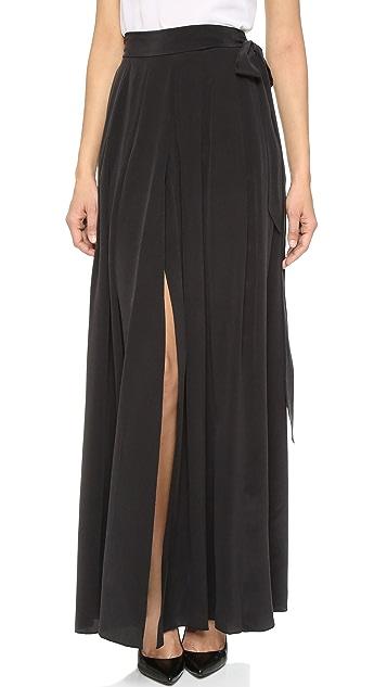 L'AGENCE Oceane Maxi Skirt