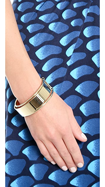 Lady Grey Shackle Bracelet