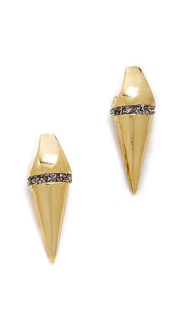 Lady Grey Axis Earrings