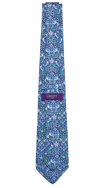 Liberty Strawberry Thief Tie
