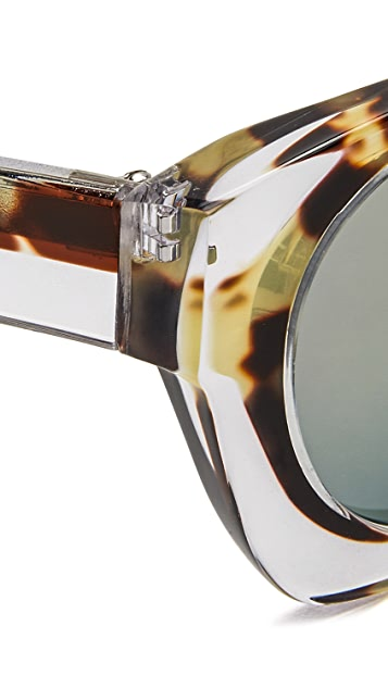 Linda Farrow for 3.1 Phillip Lim Trompe l'Oeil Sunglasses