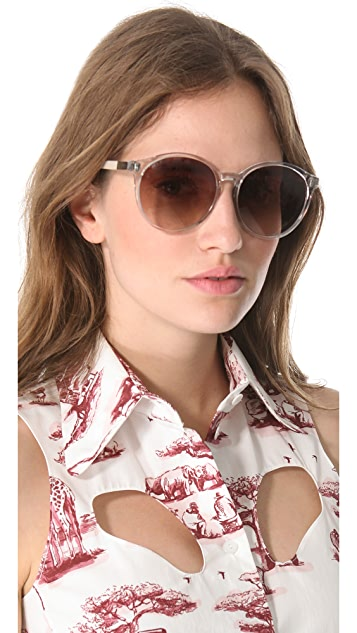 The Row Rounded Sunglasses