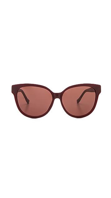 The Row Oversized Sunglasses