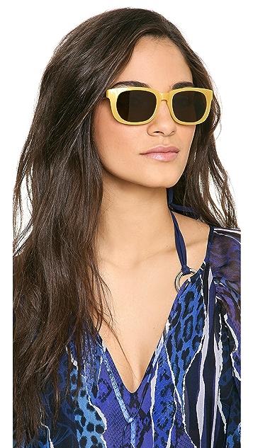 The Row Oval Lense Sunglasses