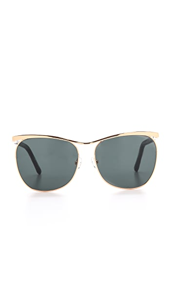 The Row Lizard Sunglasses