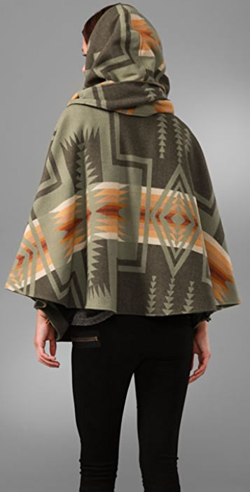 Lindsey Thornburg Pendleton Mini Cloak Jacket