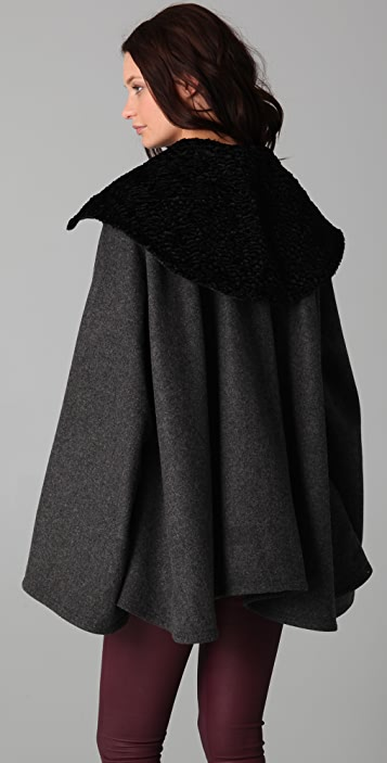 Lindsey Thornburg Collared Trench Cloak