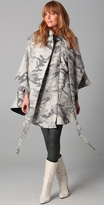 Lindsey Thornburg Mid Length Cloak