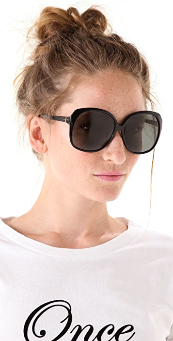 Linda Farrow Luxe Oversized Sunglasses