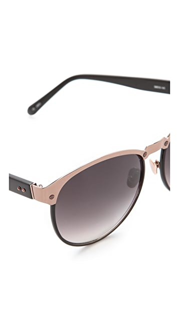 Linda Farrow Luxe Windsor Sunglasses