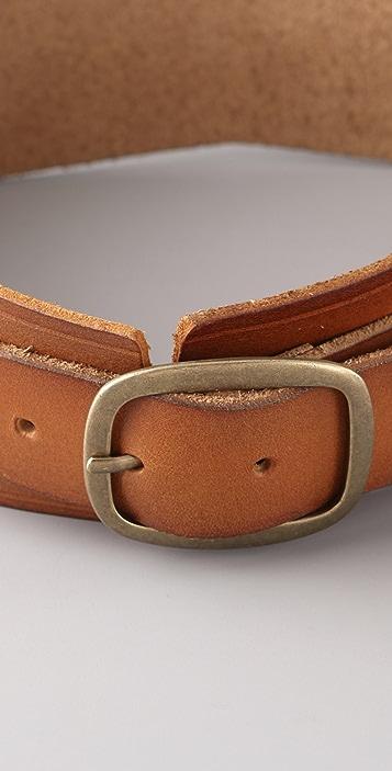 Linea Pelle Vintage Hourglass Waist Belt