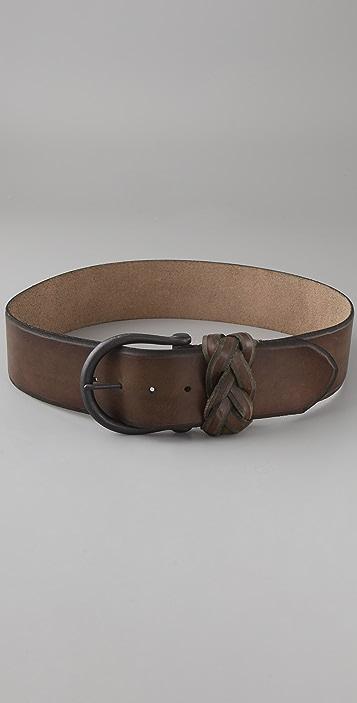 Linea Pelle Vintage Skived Edge Hip Belt