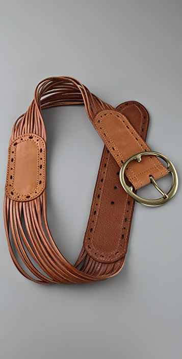 Linea Pelle Sliced & Perforated Hip Belt