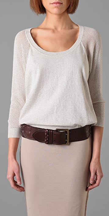 Linea Pelle Sliced & Braided Hip Belt