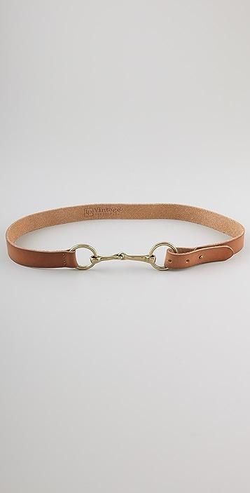 Linea Pelle Vintage Hardware Skinny Belt