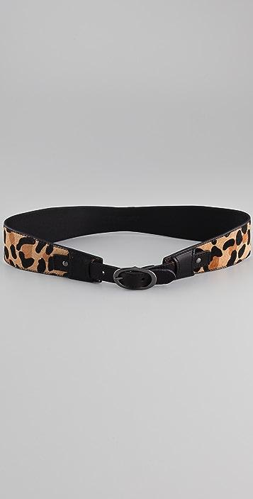 Linea Pelle Haircalf Hourglass Waist Belt