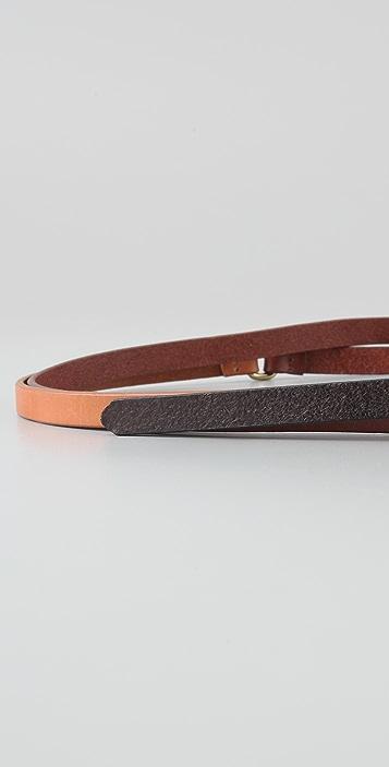 Linea Pelle Tricolor Skinny Hip Belt