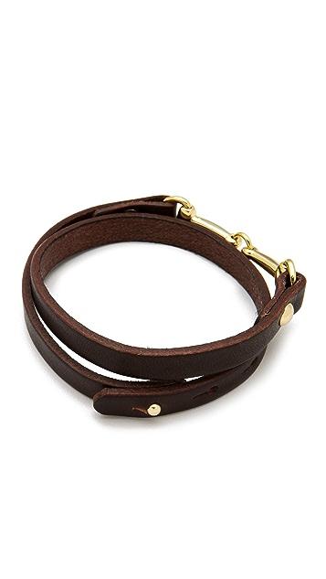 Linea Pelle Mini Harness Wrap Bracelet