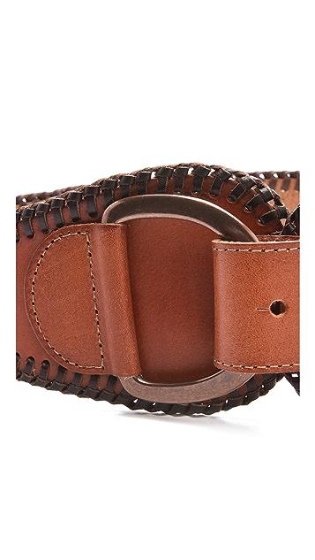 Linea Pelle Jessie Vintage Wide Waist Belt