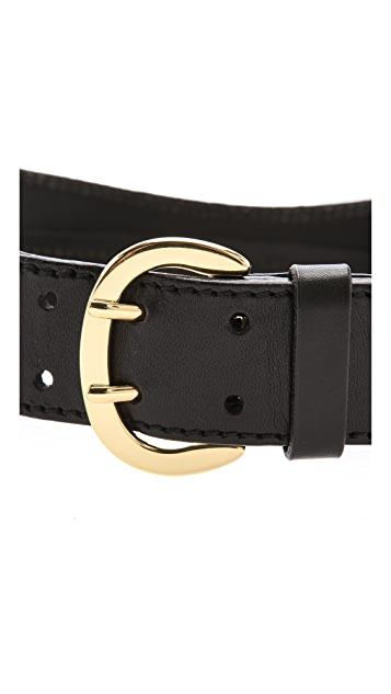 Linea Pelle Luna Sculpted Waist Belt