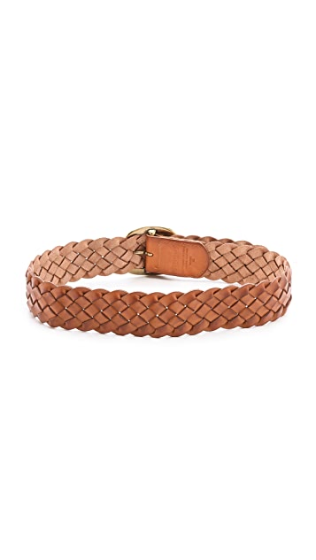 Linea Pelle Versatile Vintage Braid Hip Belt