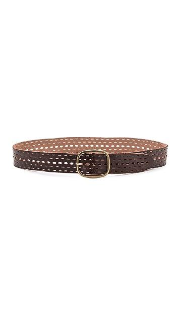 Linea Pelle Tumbled Jean Belt