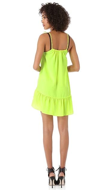 Line & Dot Mini Doll Dress