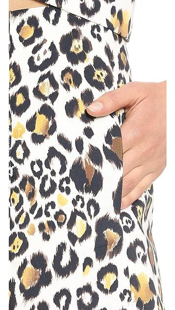 Line & Dot High Waisted Shorts