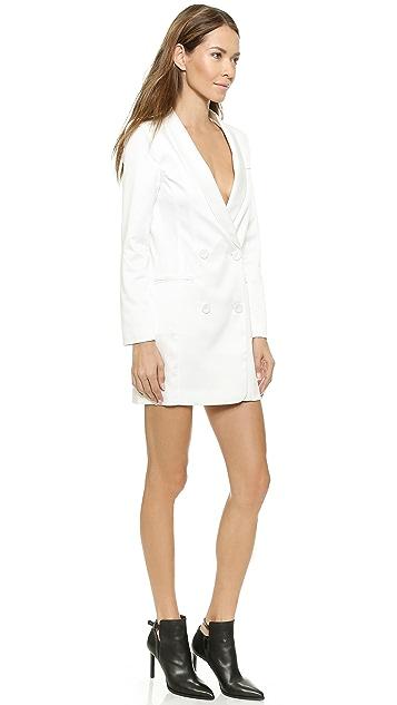 Line & Dot Angelina Tuxedo Dress
