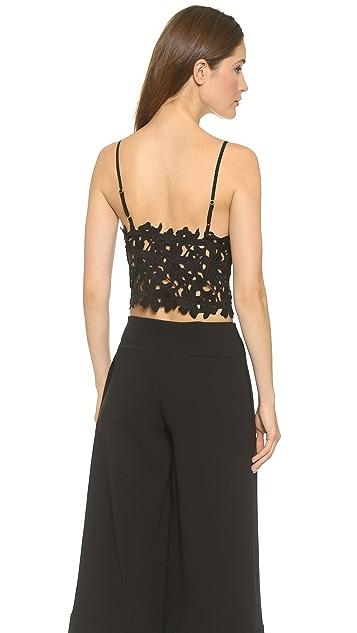 Line & Dot Femme Crop Top