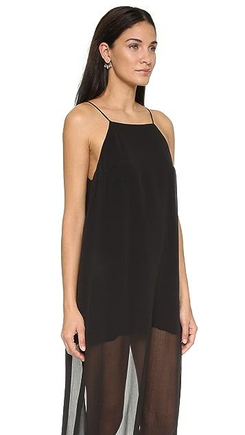 Line & Dot Rebel Sheer Maxi Dress