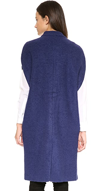 Line & Dot Oversized Vest
