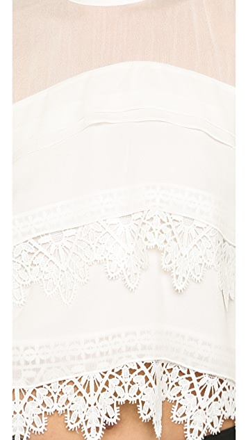 Line & Dot Mademoiselle Lace Top